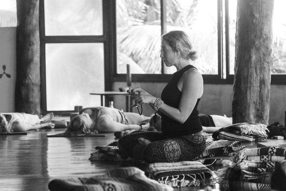 5 Elements Yin Yoga Teacher Training in Tulum | Photos taken by:  Stephanie Mignacca