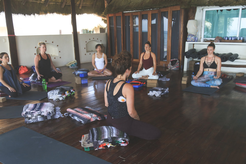 5 Elements Yin Yoga Teacher Training in Tulum - March 2018 |Photos taken by:  Stephanie Mignacca