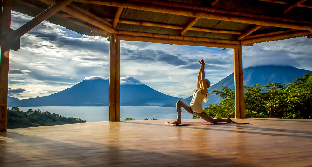 guatemala, yoga forest
