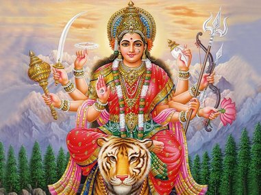 blog post durga goddess