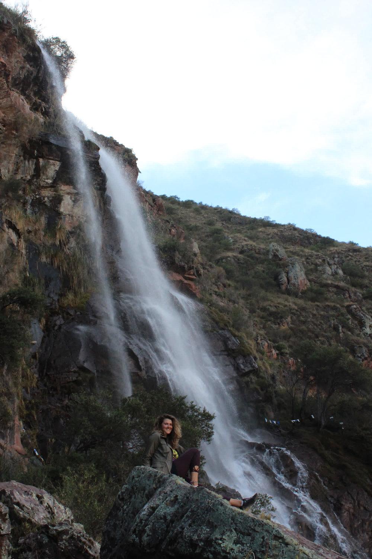 blog post waterfall huachuma journey