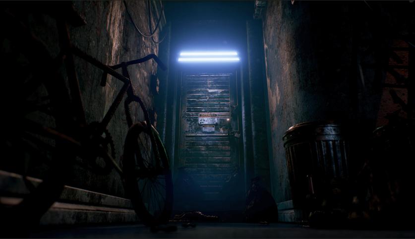 Environment 1 - Alley