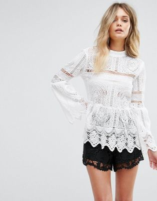 SS19 Trends- Romantic Dressing Lace Top