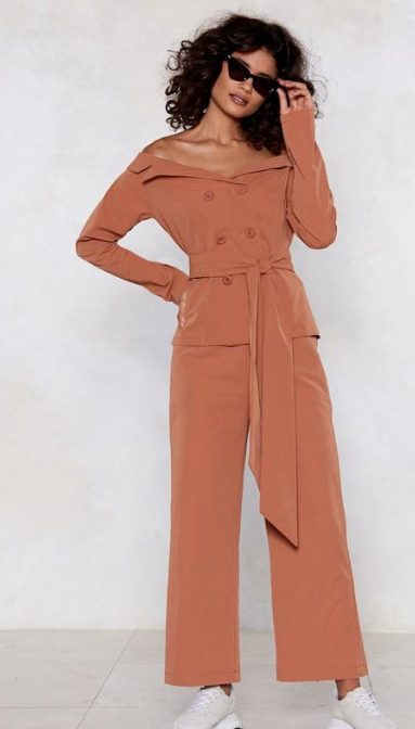 SS 19 Trends- Unconventional Suiting Off The Shoulder Blazer