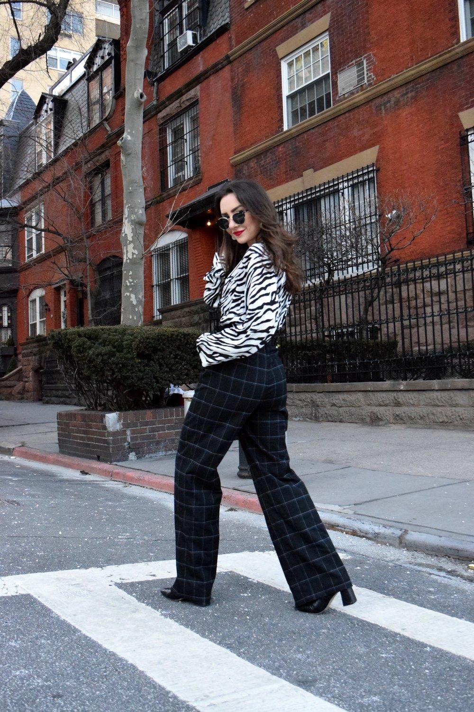 WEARING: ZARA BLOUSE, H&M PANTS, NASTY GAL BOOTIES