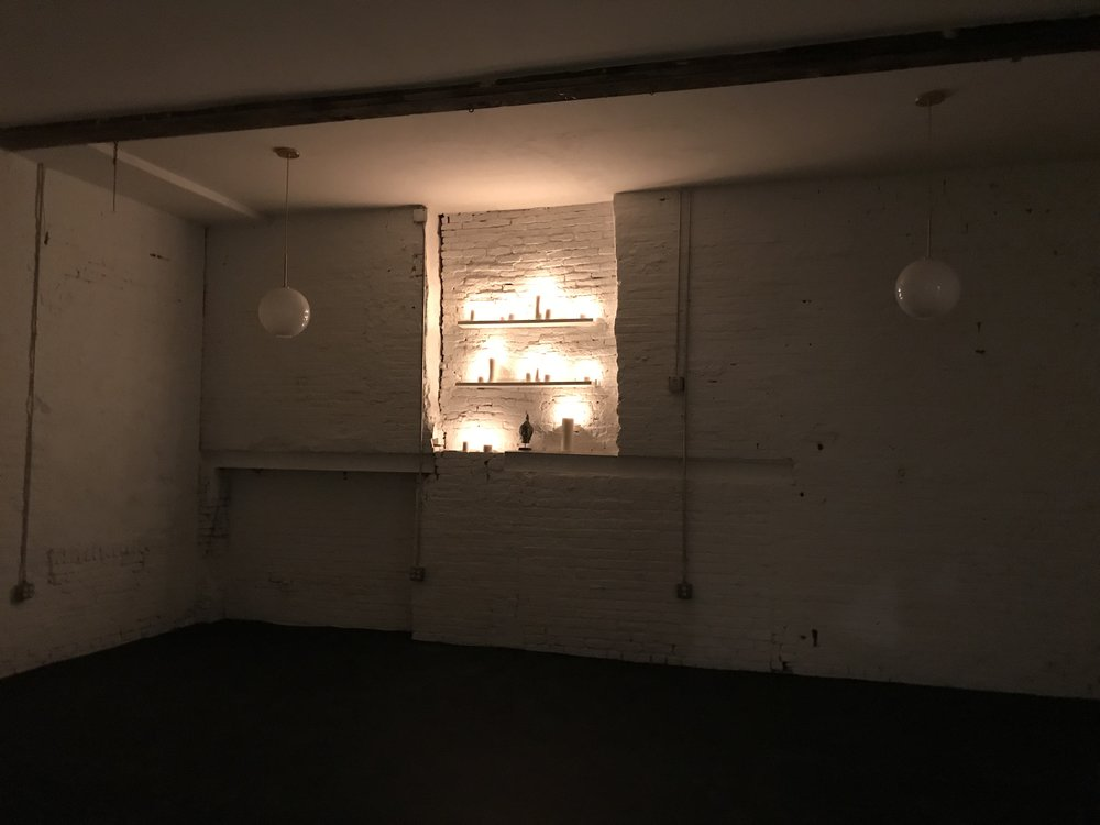 Our Thai massage therapist Alex Rodriguez also hosts our weekly candlelight meditation every Sunday at 7:30 in our class space. Learn the basics of regulating stress and the hypothalamic pituitary adrenal axis and end the week on a hight note.  -