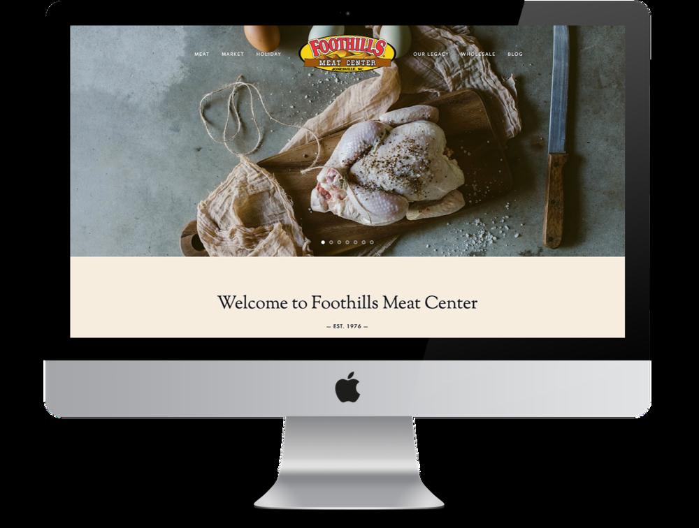 Foothills Meat Center -
