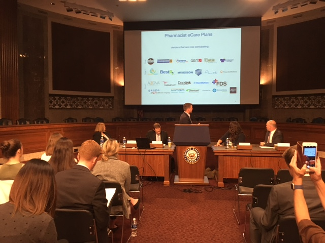 "Health IT Now holds a July 2017 Congressional briefing entitled, ""Interoperability in Practice: How to Integrate Pharmacy and Medical Care to Improve Patient Outcomes."""