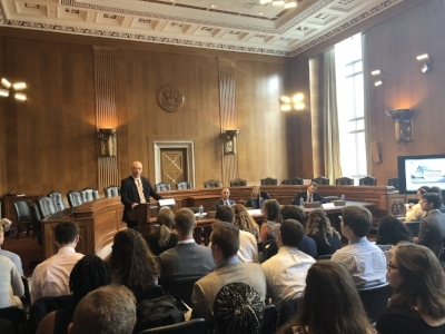 Health IT Now Executive Director Joel White welcomes Congressional staffers (click to enlarge)