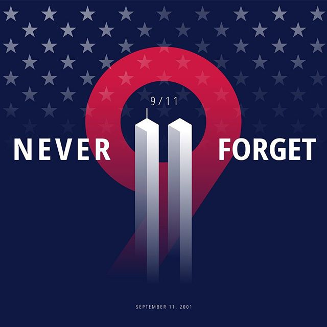 Never Forget. ❤️🇺🇸 . . . #neverforget #blessed #pray #brave #usa #unitedstatesofamerica #remembranceday