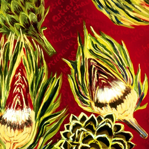 Artichokes  by Molly Pomerance