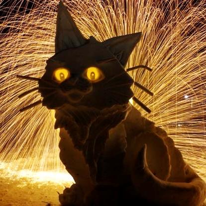 Feline Groovy  by  Dave Rothstein
