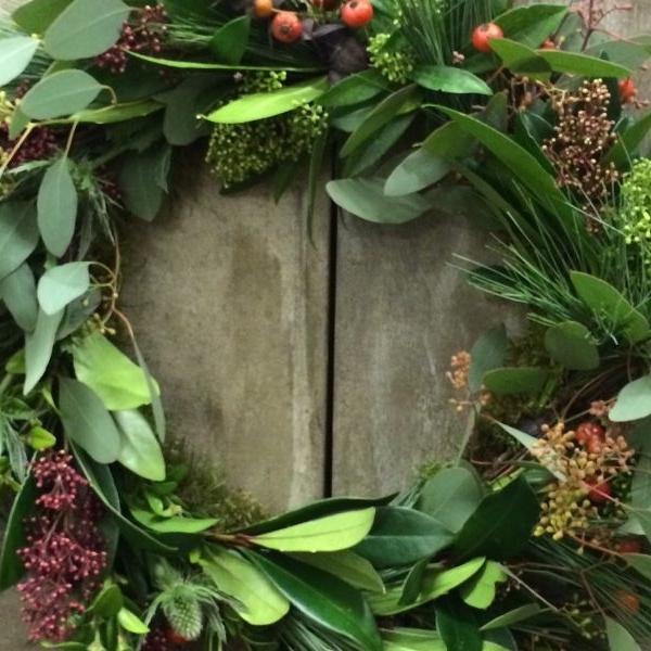 Wreath Making at Becket Arts Center