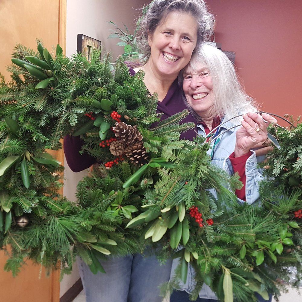 Wreath-Making December Workshops