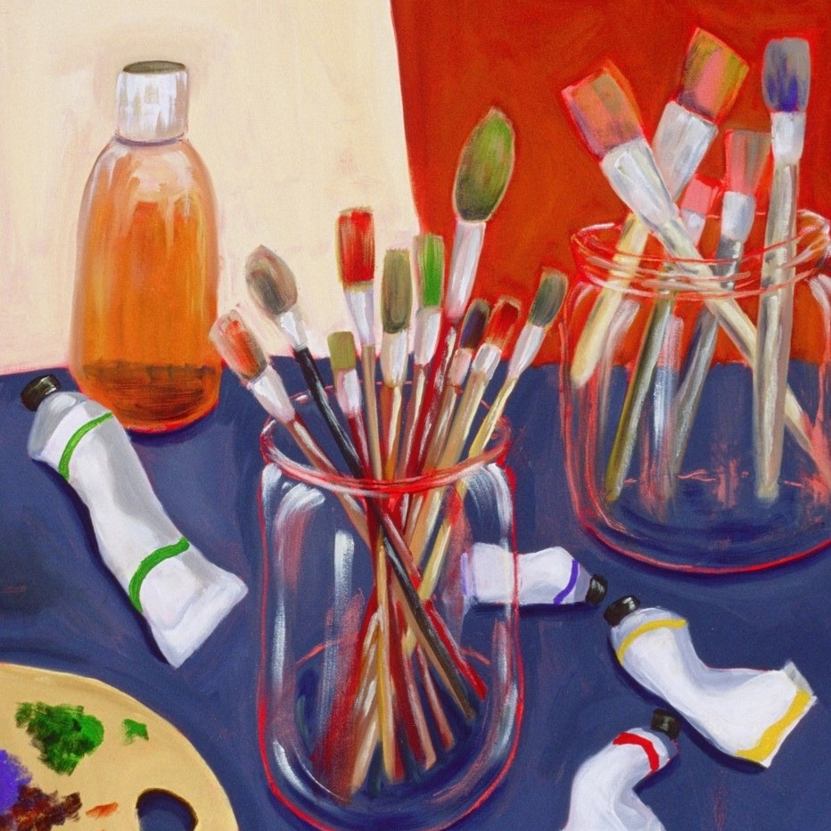 Painter's Tools  by Molly Pomerance