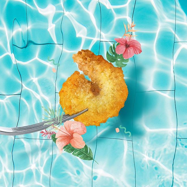 Don't have to be in the ocean to save the ocean. Help us disrupt seafood with plant-based shrimp. Think about that #sealife while at that #poollife 🦐🏊‍♂️💦
