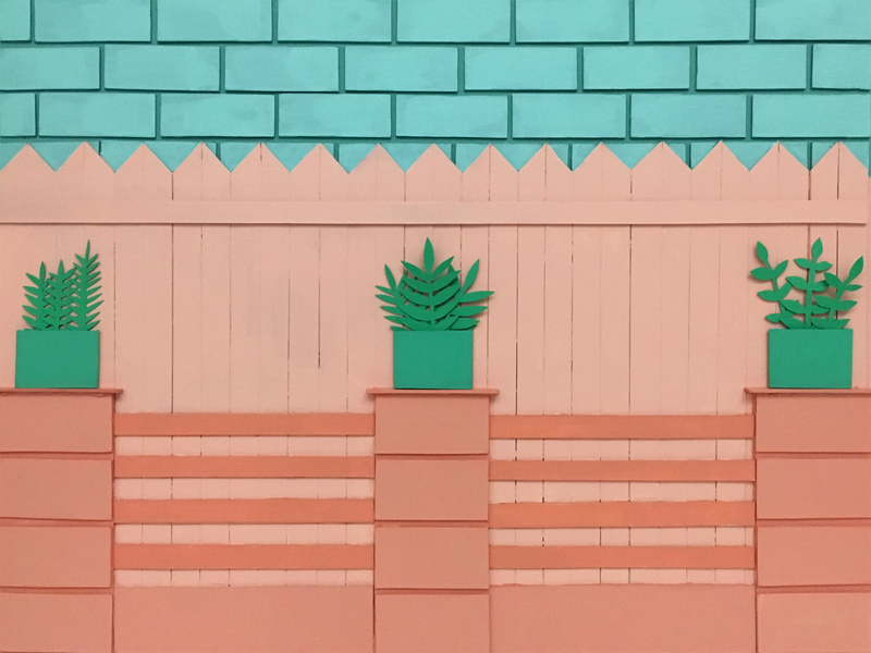 Fence on Fence, 2016
