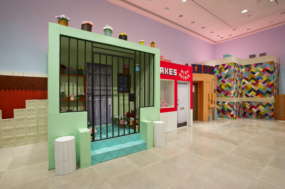 Salon of Beauty (installation view), 2011