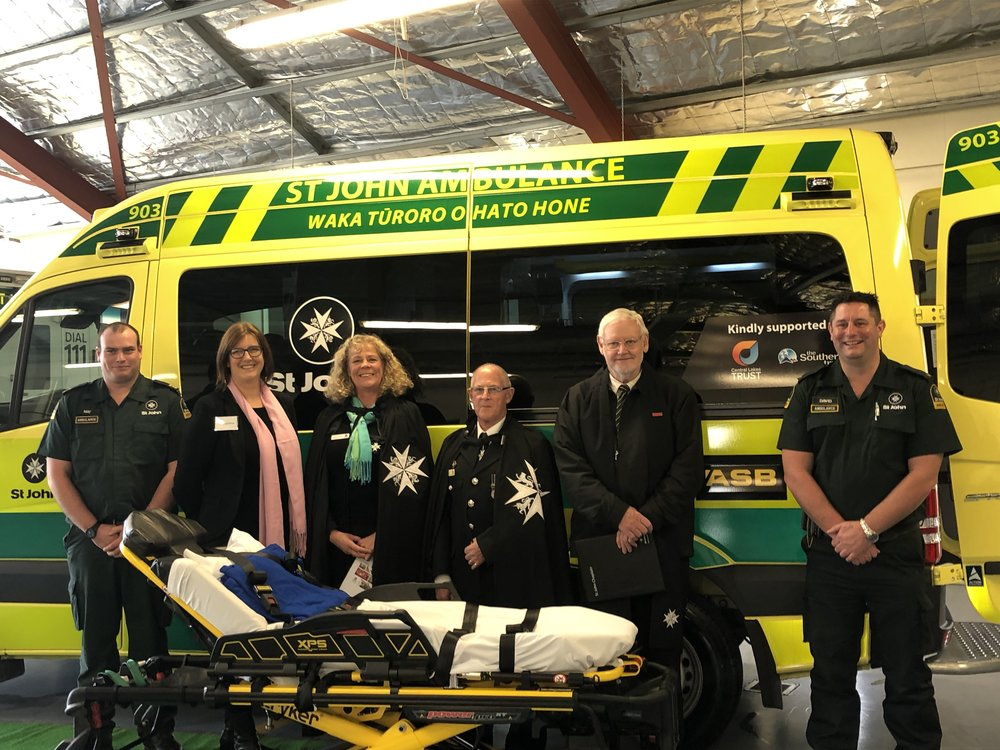 "State-of-the-art Generation 3 Ambulance for the Wakatipu area  Vicci Lawrence our Grants Programme & Policy Manager was privileged to attend the dedication for the state-of-the-art Generation 3 ambulance; the first of its type for the Wakatipu area.  St John need to raise $57,000 a day to keep its service going across New Zealand, even with government funding. This Gen3 ambulance enables St John to provide a crucial and highly valued service, and a safe and reliable first response to our local community members. It improves the quality of the Wakatipu fleet and forms a part of an ambulance replacement plan which sees aging ambulances; those that have travelled over 400,000kms, or older than eight years replaced. 12 are being replaced per year across the South Island. Gen3 ambulances have a slimmer design for narrower streets, have secure 3-point belts for travelling officers, as well as a new modern Stryker stretcher holding up to 312kgs of weight.  ""On behalf of St John, thank you very much for your grant towards the St John Wakatipu new ambulance. With the reduced funding available and the pressures trusts, and foundations are under when making funding decisions, we are especially grateful and feel privileged that the Central Lakes Trust has chosen to again support the work of St John.""  - Charizabel Sapiandante, Fundraiser, South Island Region, St John New Zealand"