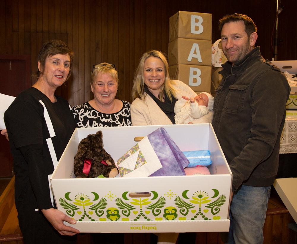 Queenstown Baby Box first recipient