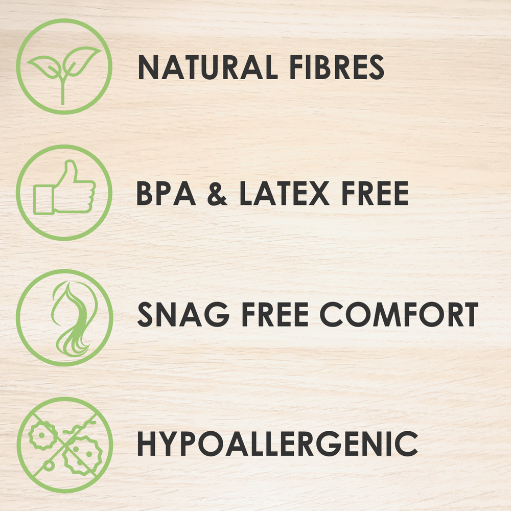 natural hypoallergenic snag free