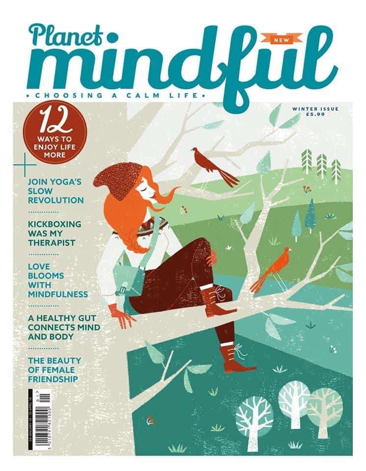 Why Mindfulness and Psychotherapy work well together - My article was featured in the first issue of planet mindful, a new quarterly magazine.