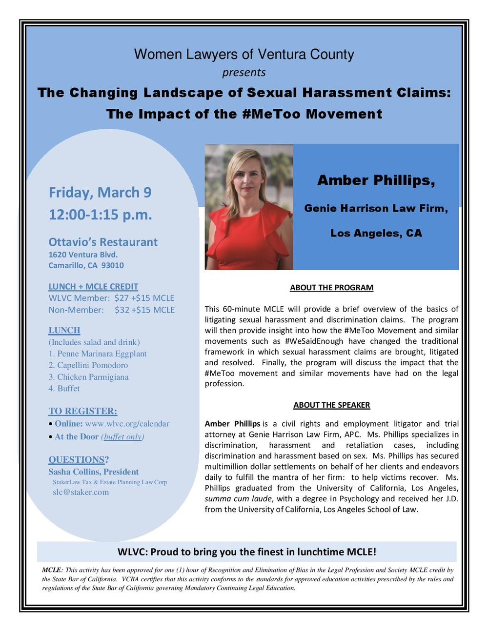 Upcoming Events — Women Lawyers of Ventura County