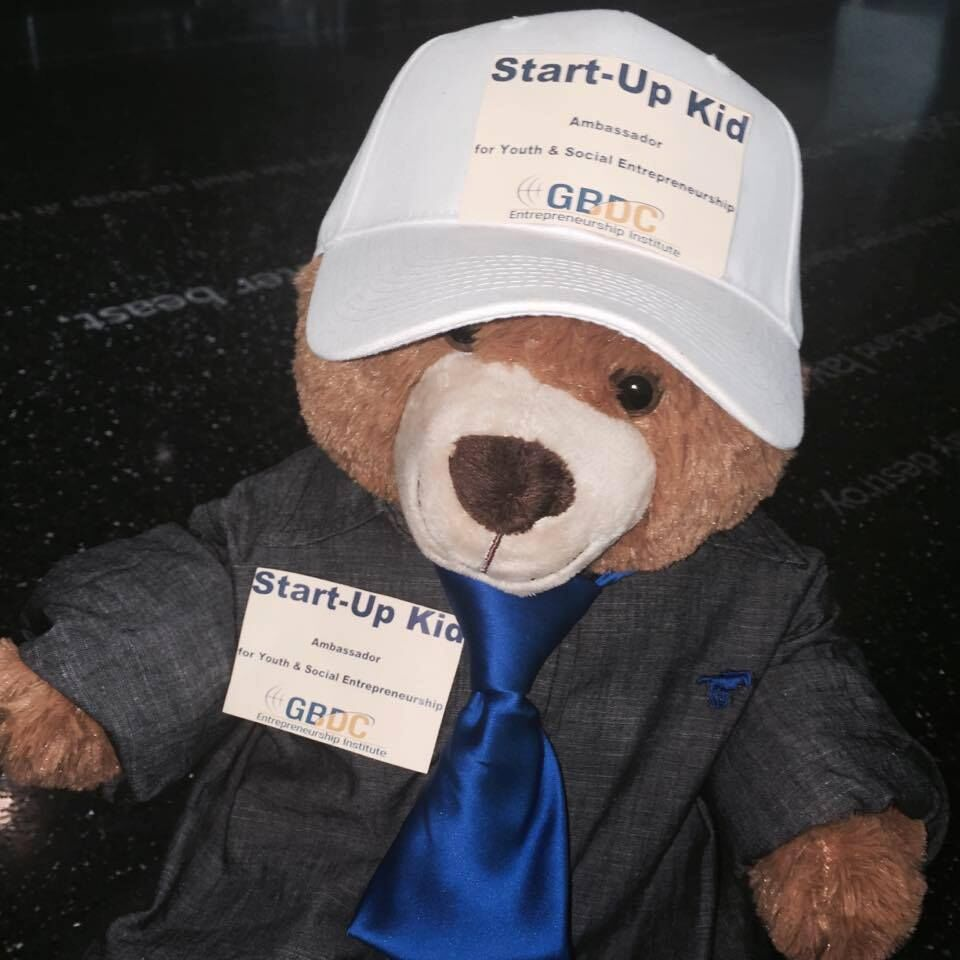 The GBDCEI Startup Kid Bear