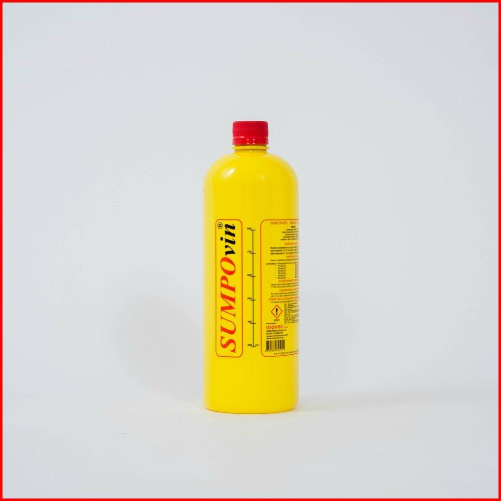 SUMPOvin - 5-6 % sumporasta kiselina koja se primarno koristi za zaštitu vina od kvarenja. Jedno je od najstarijih sredstava koje se primjenjuje u proizvodnji i njezi vina, jer omogućava postizanje njegove vrhunske kvalitete bez utjecaja na organoleptička svojstava (boja, okus i miris).Saznajte više o sumporenju i načinima primjene ovog proizvoda.