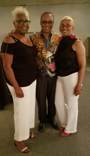 Class of 1973 Citywide Reunion Organziers: Brenda Warren, Larry Kennedy, and Tonya McGee-Stevenson