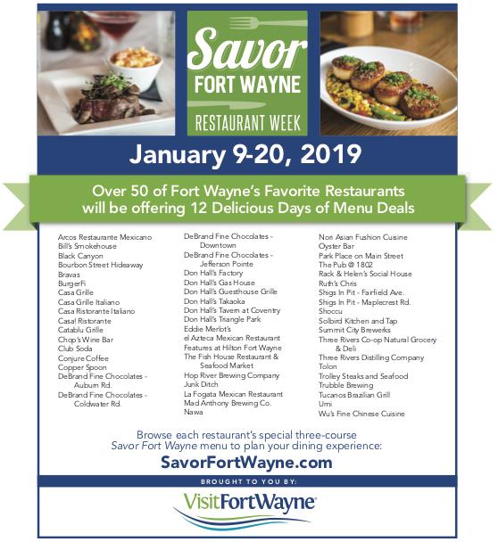 Savor Fort Wayne Solbird Kitchen Tap January 9 20 2019 Fort