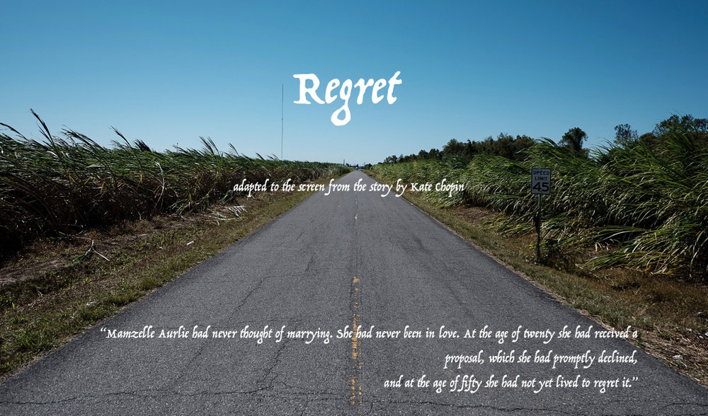 """""""Regret"""" - Principal photography was completed in Nov 2018! """"Regret"""" is now in post!"""