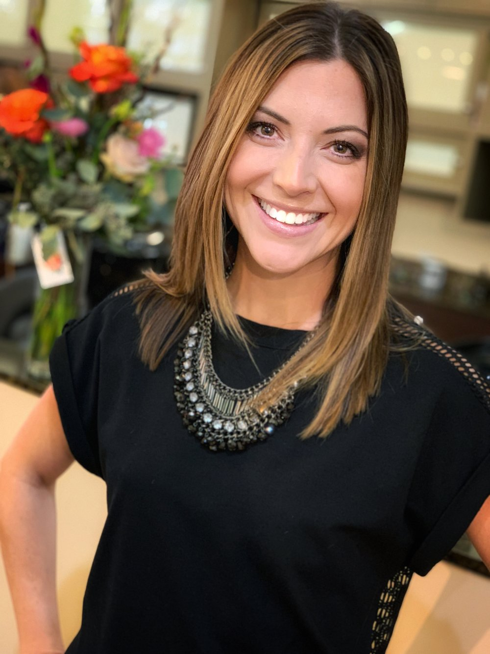 Christine - Specializes in:Hair Color, Teaching People about their Hair, Balayage, Highlights