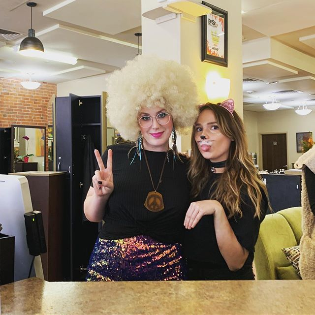 Happy Halloween from the SideDoor Salon!