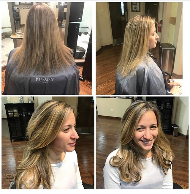 It's all about making dreams come true!! • • Color and extensions by @lisaamato • •  #hairextensions #balayage #makingdreamscometrue #summeroflisa #modernsalon #hairdreamsextensions