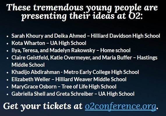 Look who is presenting at O2! www.o2conference.org #o2conf #awesomeo2presenters