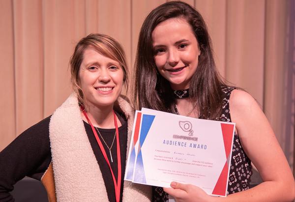 Senior Prom - Elizabeth Weller with Taylor McClintockAudience Award Winner!