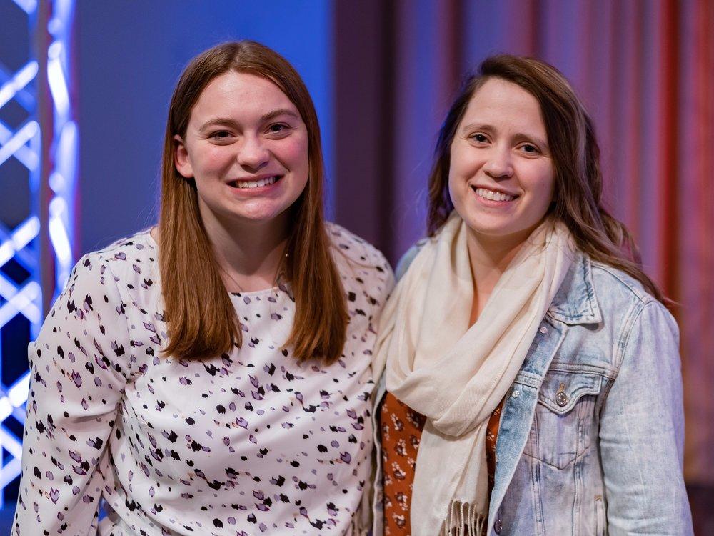 hilliard schools food pantries - Margaret Lee with Taylor McClintockAudience Award Winner!