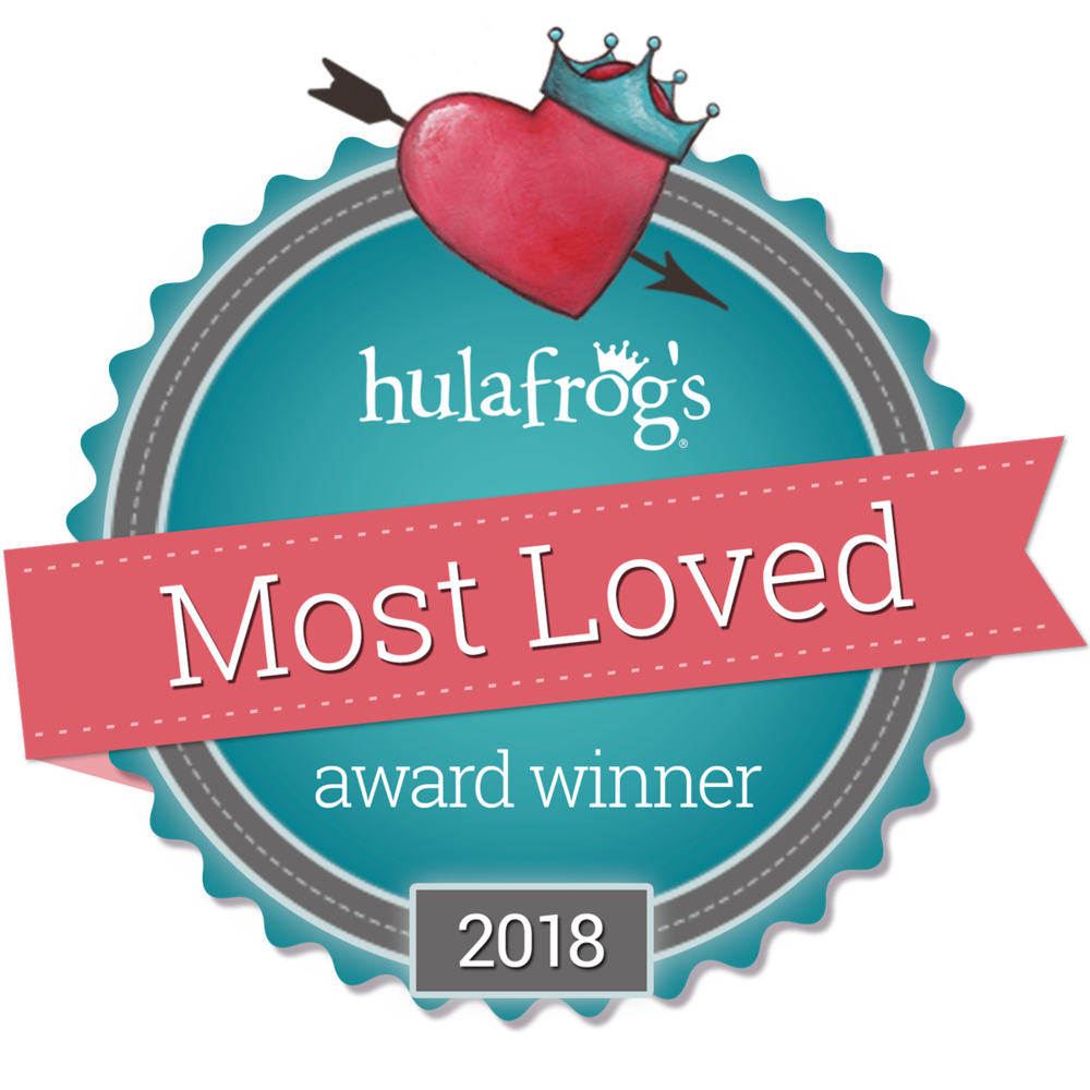 We are Hula Frog's Most Loved Gymnastics Studio for 2018!