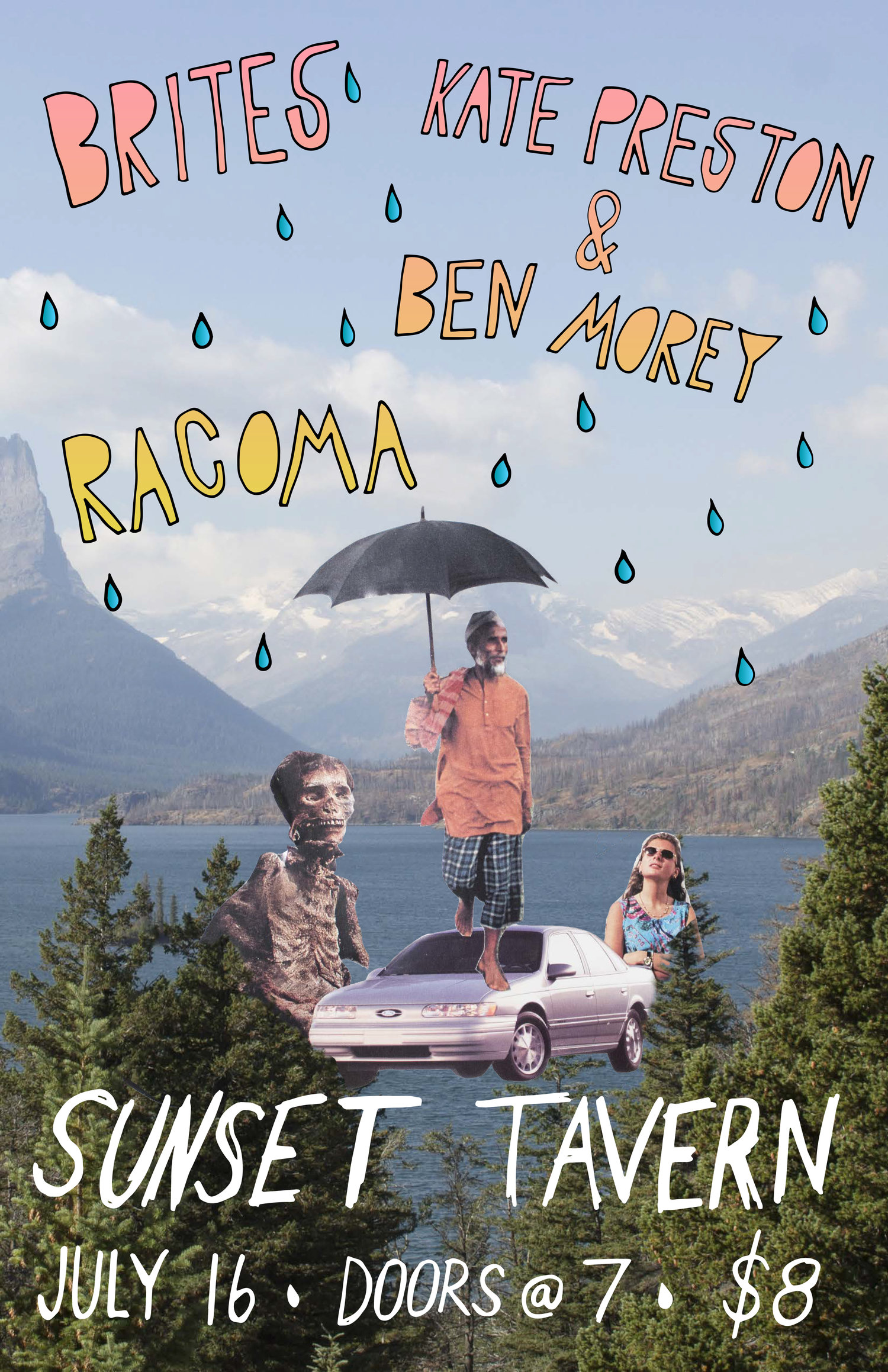 Brites, Kate Preston & Ben Morey, Racoma @ The Sunset