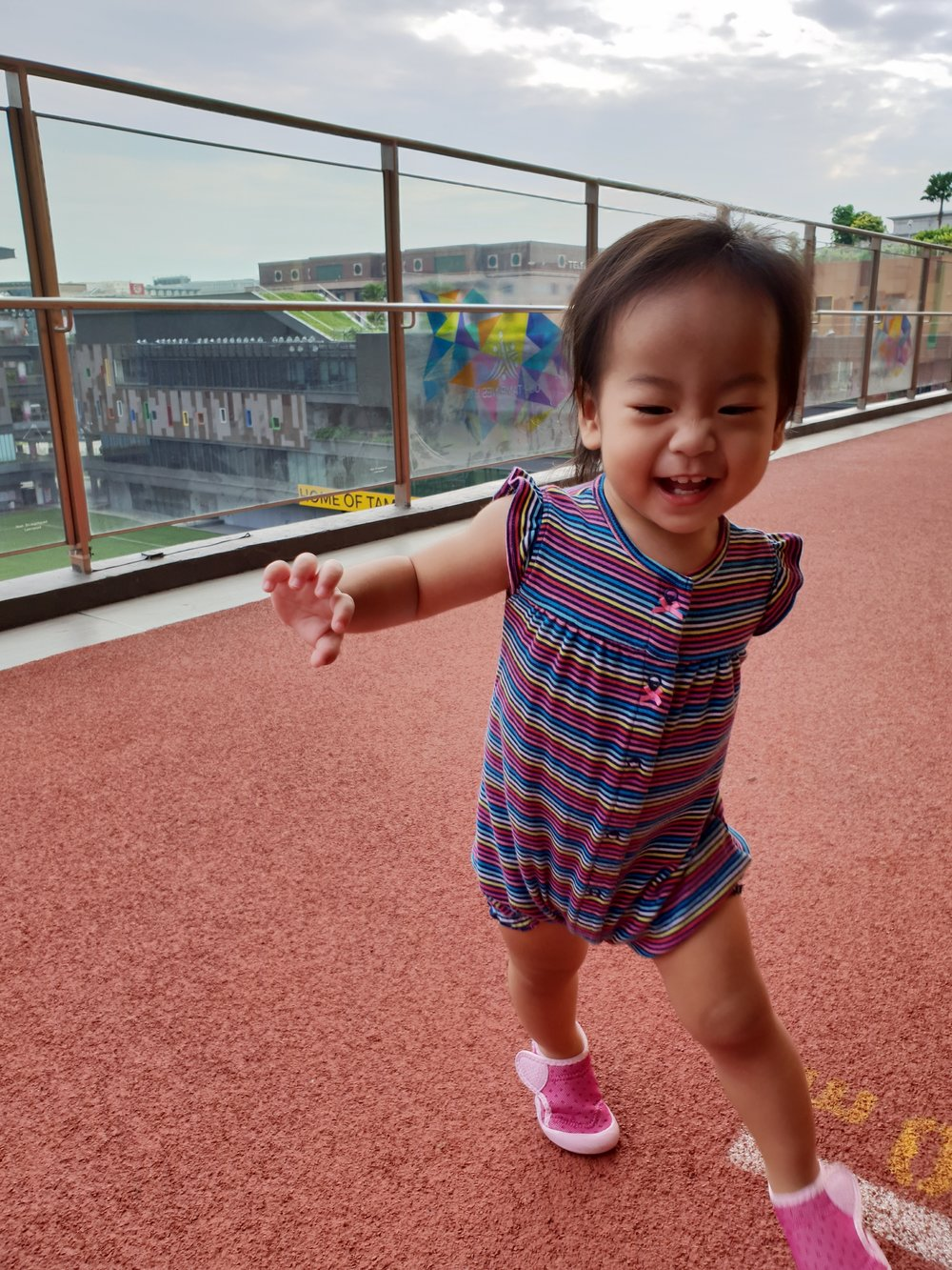 ADELINA K. THIARA  Say hello my daughter, Annabeth! This cutie is my #2 and she has brought me so much joy and positivity every day. Annabeth loves running and releasing her little bundles of energy at Our Tampines Hub, so you could often find her having fun at either the Eco Garden or the running tracks.