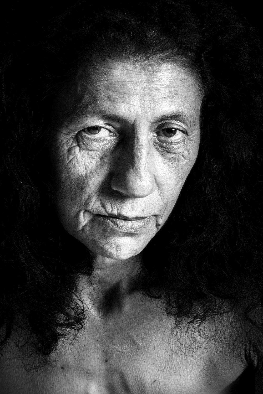 Portrait of a brazilian mother.