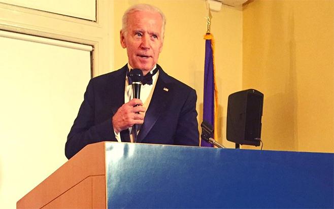 Former Vice-President Joe Biden speaking at the ACBH Advisory Council Gala Dinner.