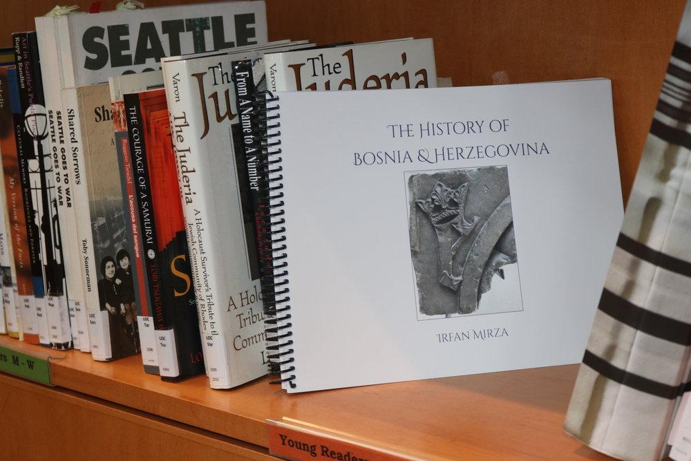 The History of Bosnia & Herzegovina , written by Irfan Mirza. Published by Halton Creek Publishing.