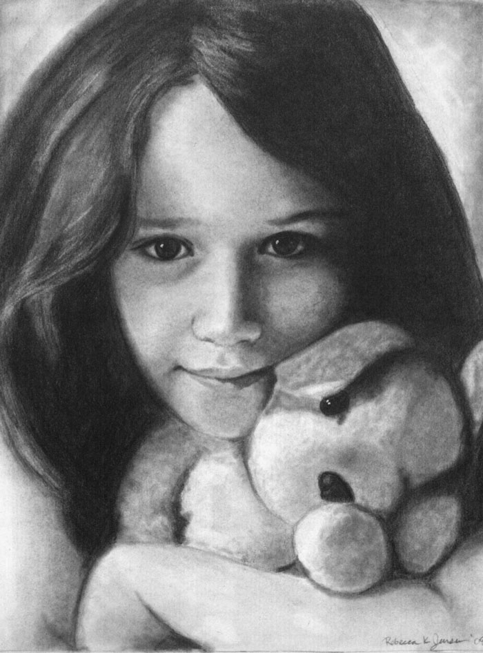 "Graphite on bristol 9""x12"" 2006"