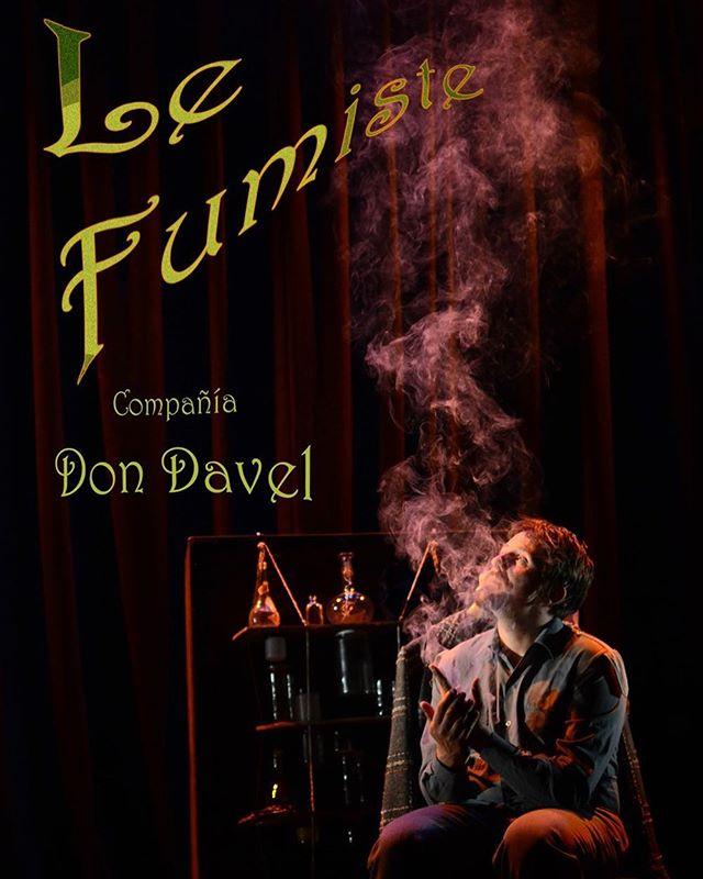 Único final de semana en Madrid de la maravilla de Don Davel, Le Fumiste. Un homenaje a la memoria con circo, magia y clown.  Ven a disfrutarlo sábado a las 22:00 y domingo a la 21:30 en el Teatro Arlequin Gran Via.