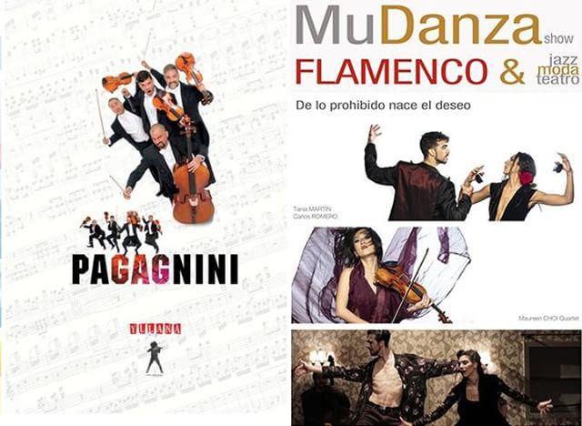 ¿No tienes planes para este fin de semana? Sábado y Domingo el Teatro Arlequín Gran Vía te ofrece dos  opciones de lujo! #mudanzashow y Pagagnini - Oficial VEN Y DISFRUTA DEL TEATRO. www.teatroarlequingranvia.com