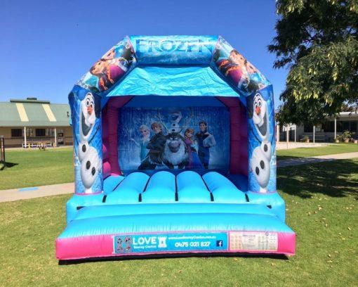Frozen Bouncy Castle Hire Baldivis
