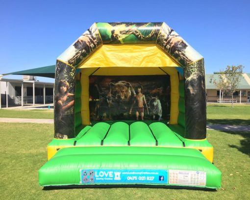 JUNGLE BOOKED THEMED BOUNCY CASTLE $249