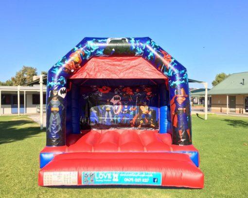 Super Heros Bouncy Castle Hire Baldivis
